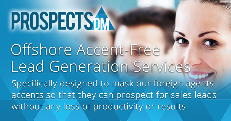 Cost effective Accent-Free lead generation with our Call Center Services.